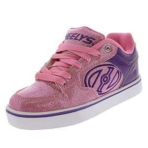 New Heelys pink & purple glitter color -NO WHEELS